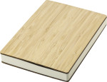 Bamboo cover notebook