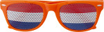 Plexiglass sunglasses with country flag