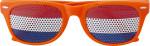 Gafas de sol de PMMA con bandera